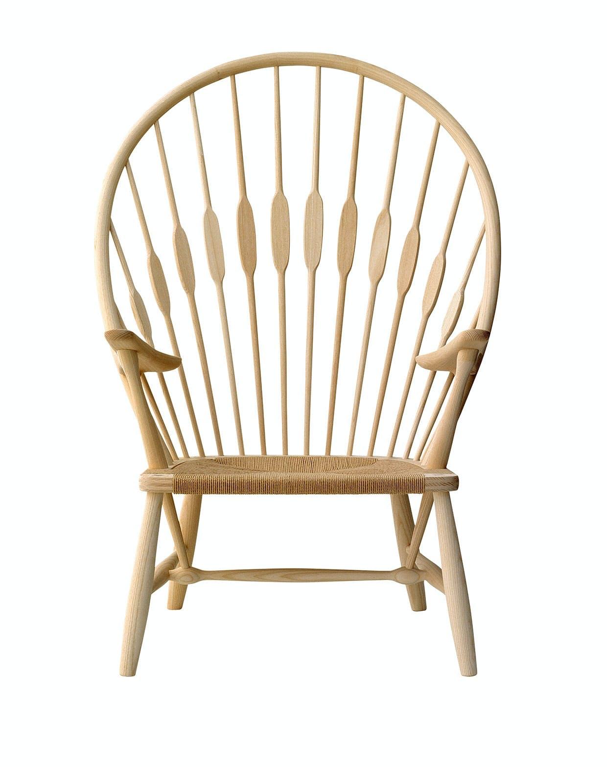 Påfuglestolen tegnet af Hans J. Wegner