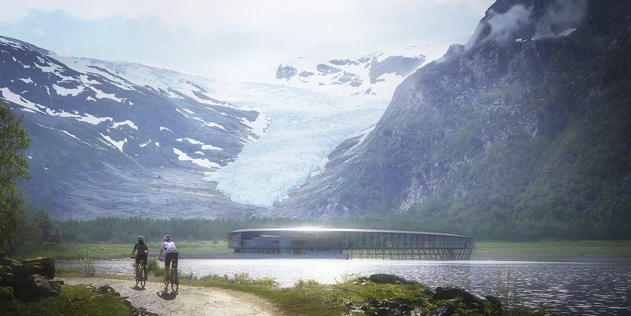 snøhetta hotel norge arctic circle aktiv ferie