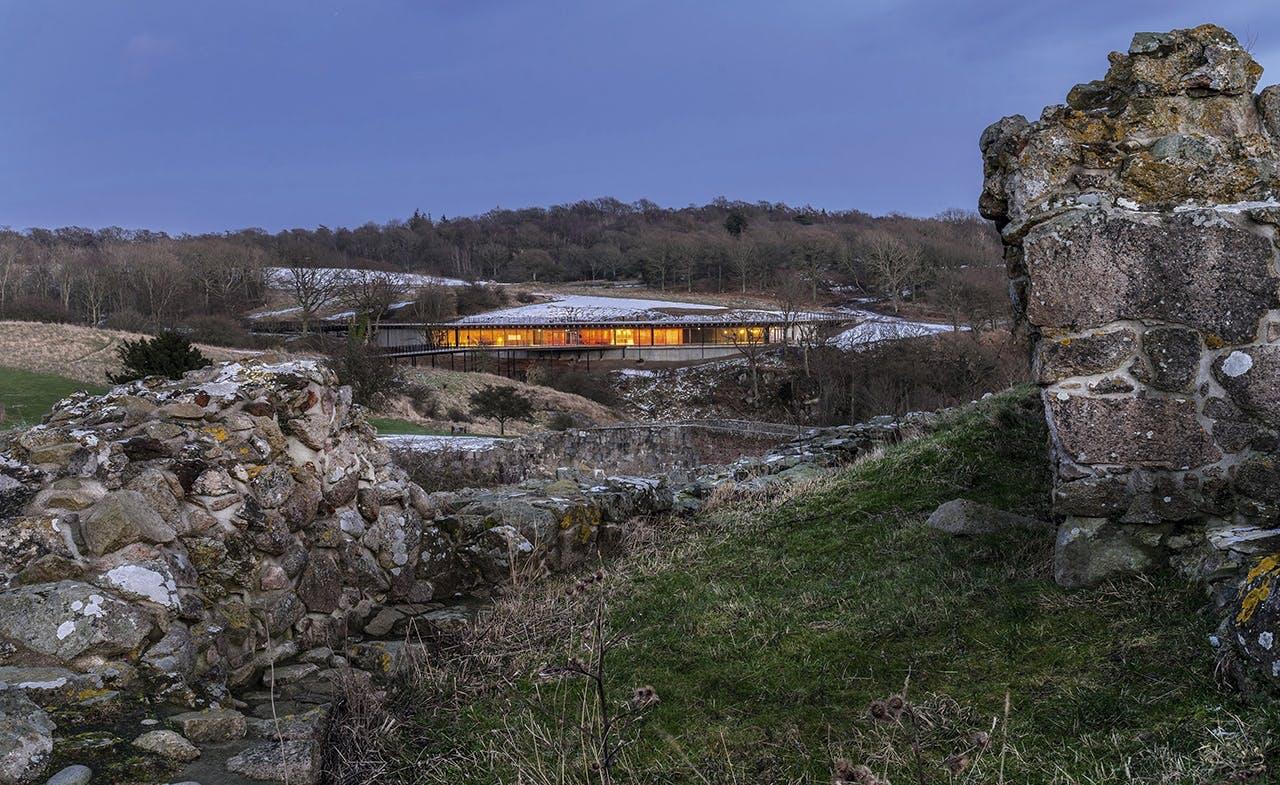 bornholm og hammershus har fået et nyt besøgscenter
