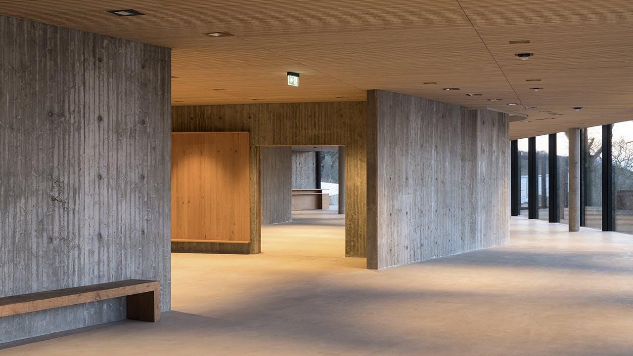 bornholm og hammershus besøgscenter udstillingslokale