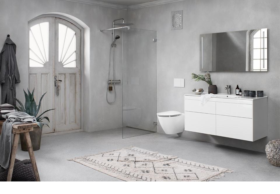 Vaske med underskabe til badeværelse   Se vores flotte løsninger