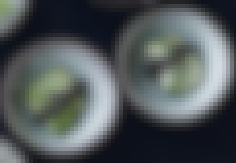 Avokado med lavasalt og rogn