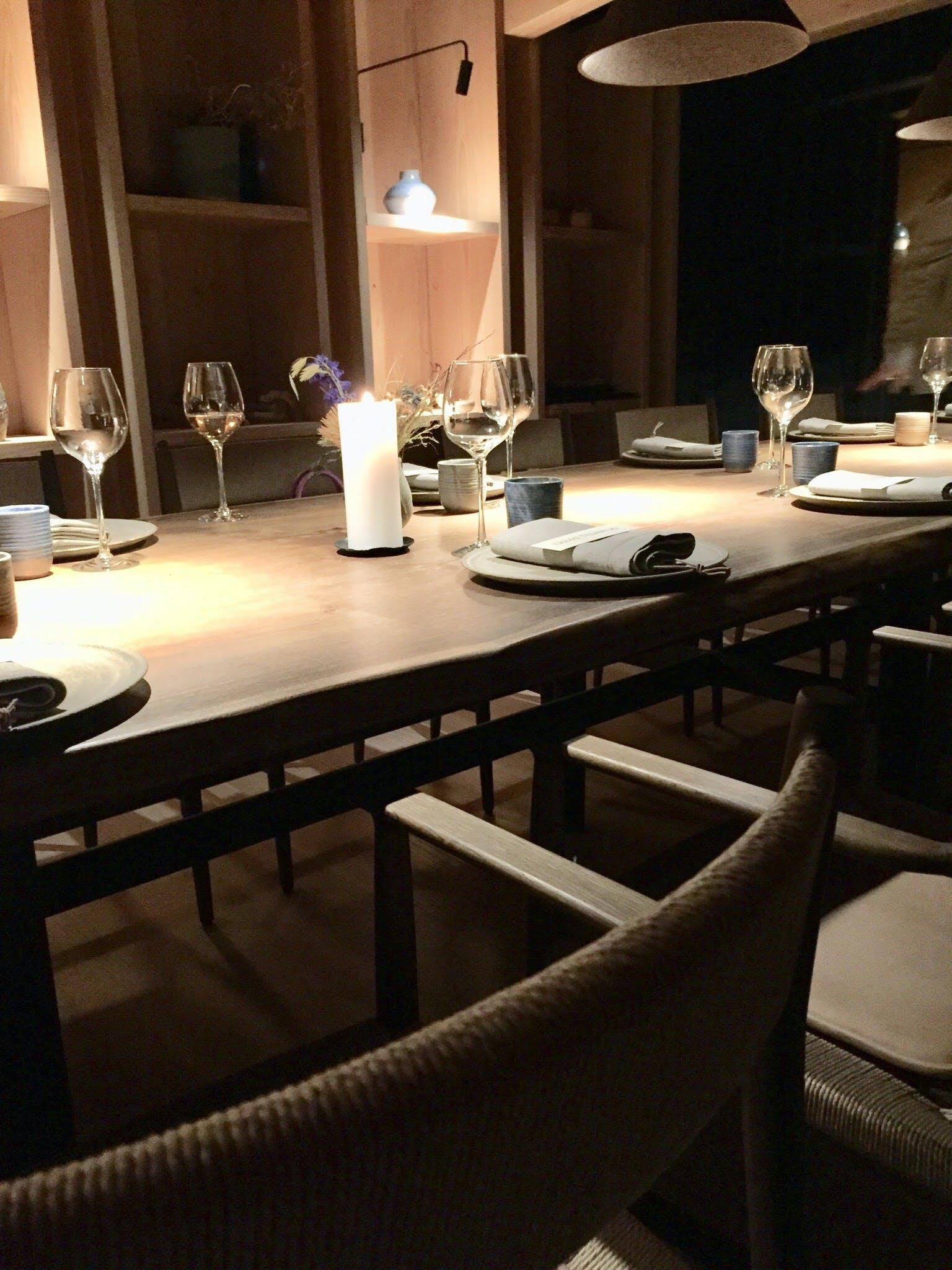 noma restaurant borddækning