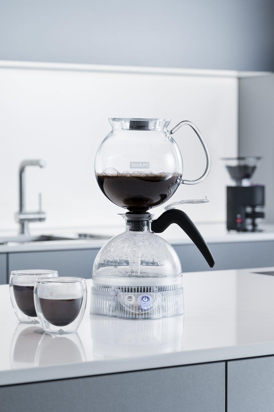 kaffebrygger til rigtig kaffe vakuum kaffe