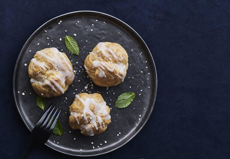 dessert nem kage profiteroles vanilje vandbakkelser