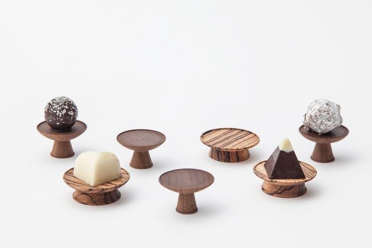 chokolade mini piedestal akikokenmade