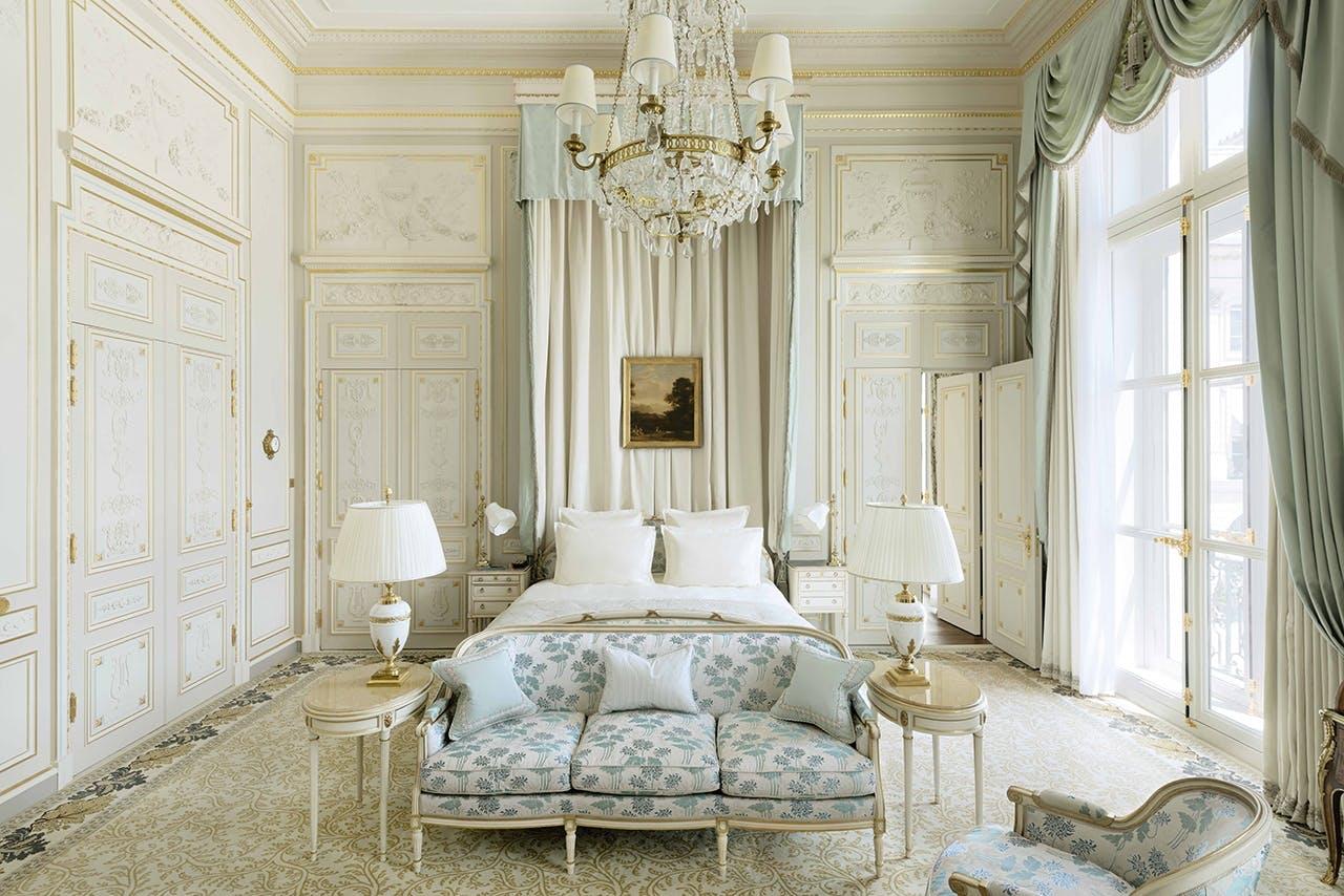 auktion hotel ritz hotelværelse paris