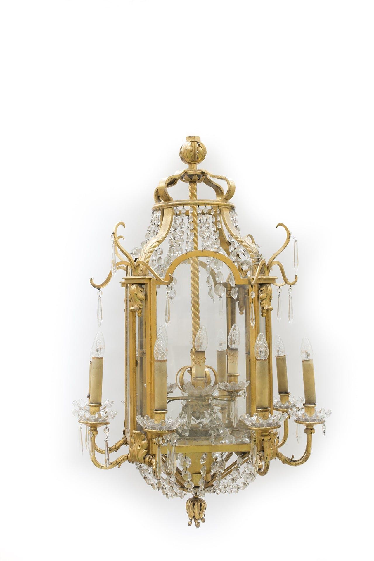 lampe lysekrone auktion hotel ritz paris