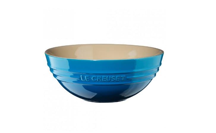 Le Creuset blå skål