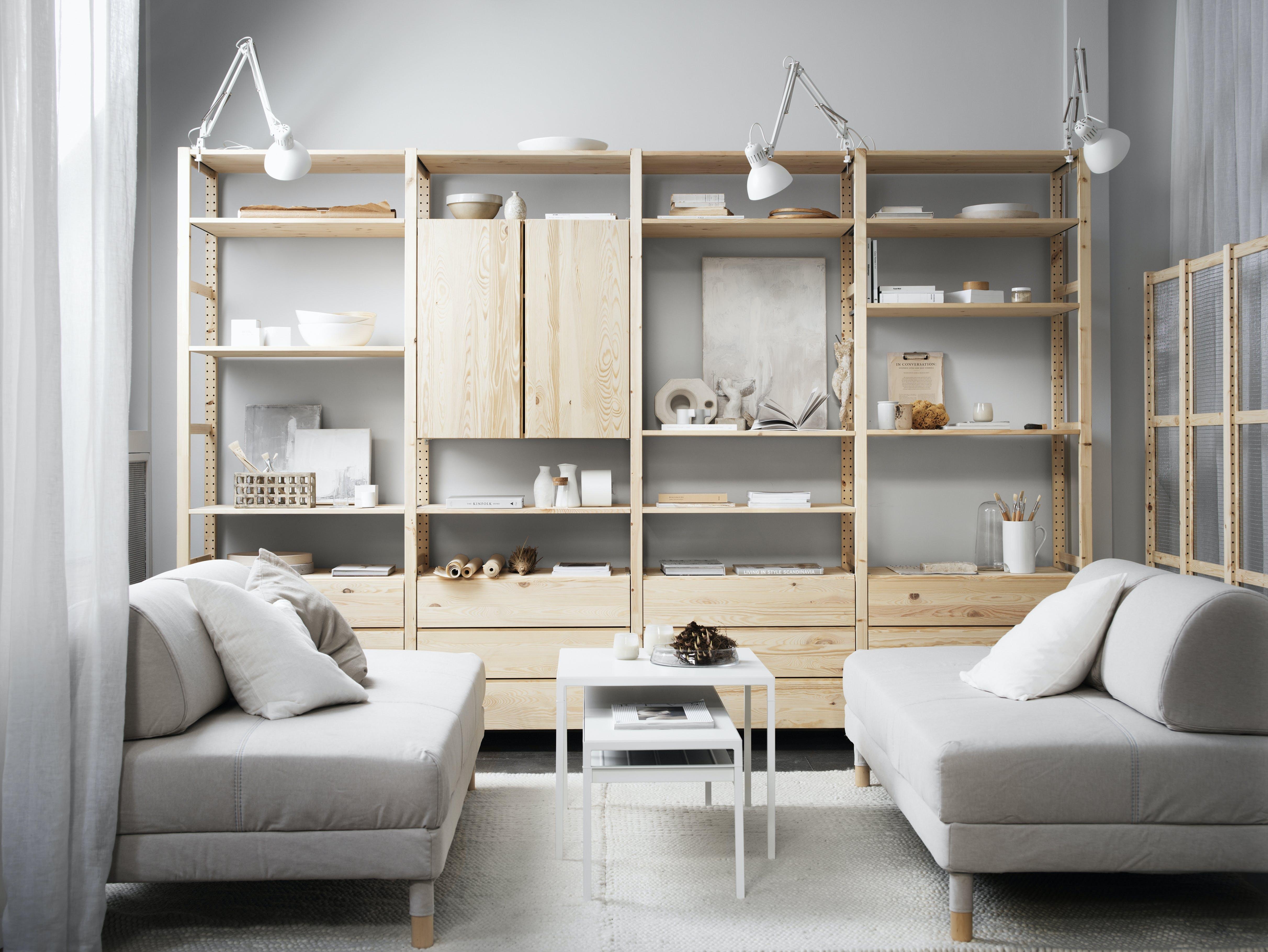 IKEA IVAR Møbelserie Opbevaringsserie
