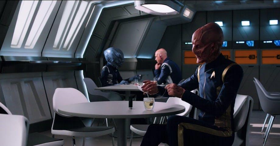 Glas Bodum dansk design Star Trek Discovery serie Netflix