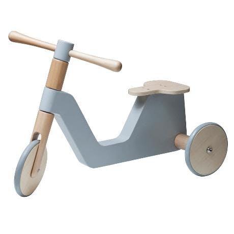 sebra scooter lyseblå