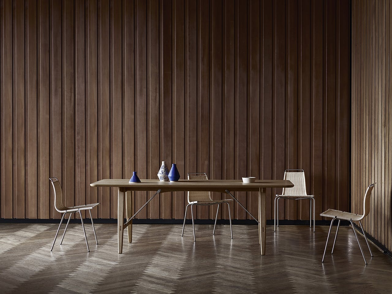 børge mogensen jagtbordet spisebord designklassiker dansk design ikonisk