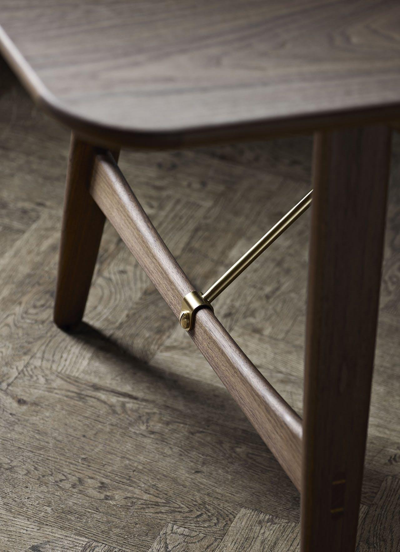 børge mogensen jagtbordet spisebord designklassiker dansk design relancering valnød