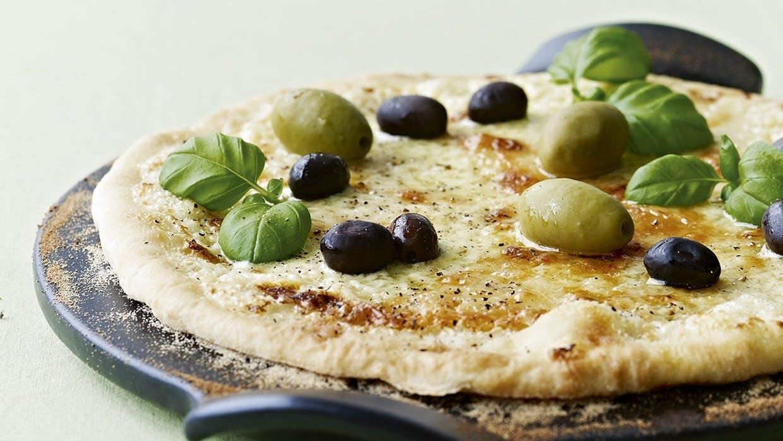 hjemmelavet pizza opskrift på pizza pizza bianca