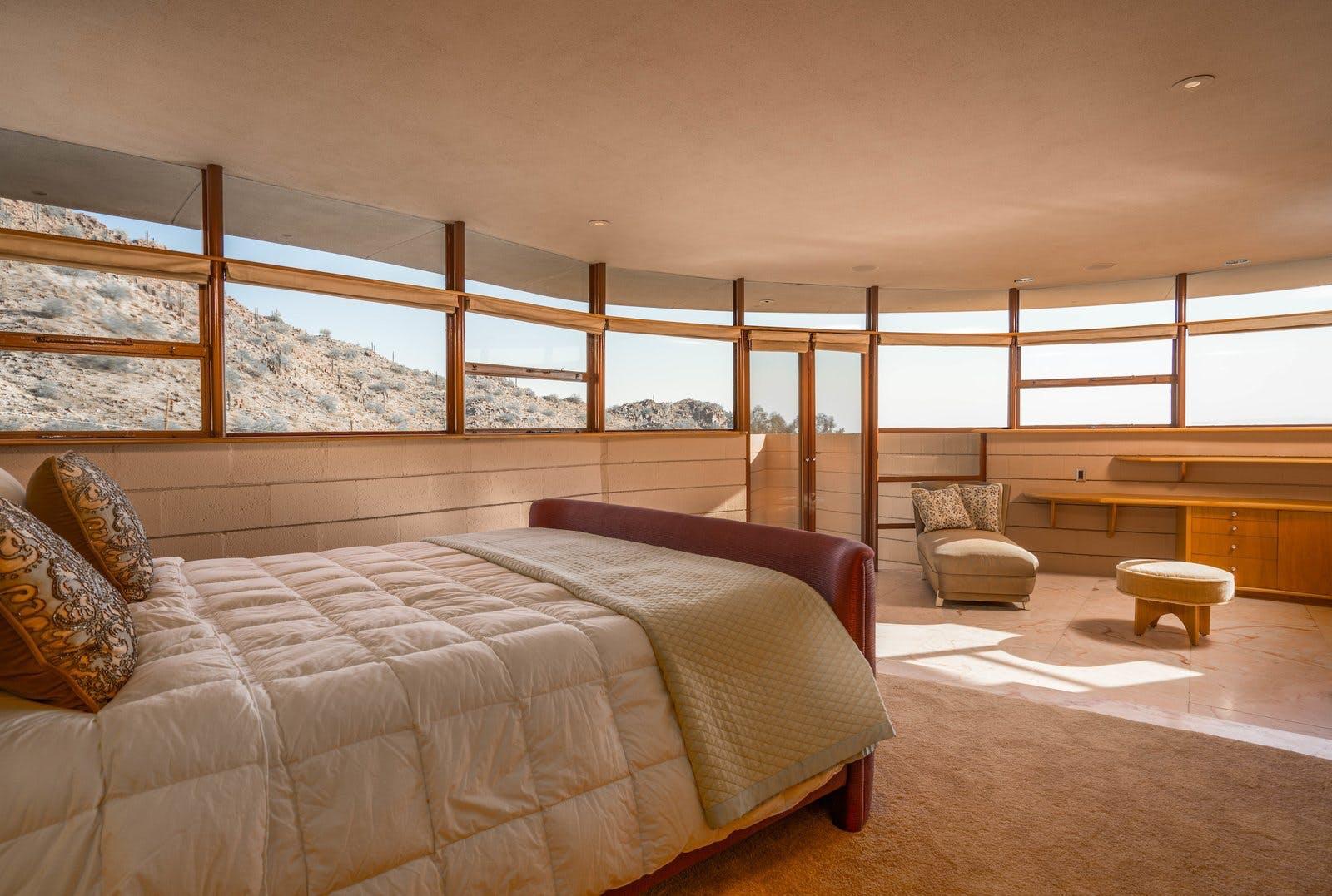soveværelse frank lloyd wright
