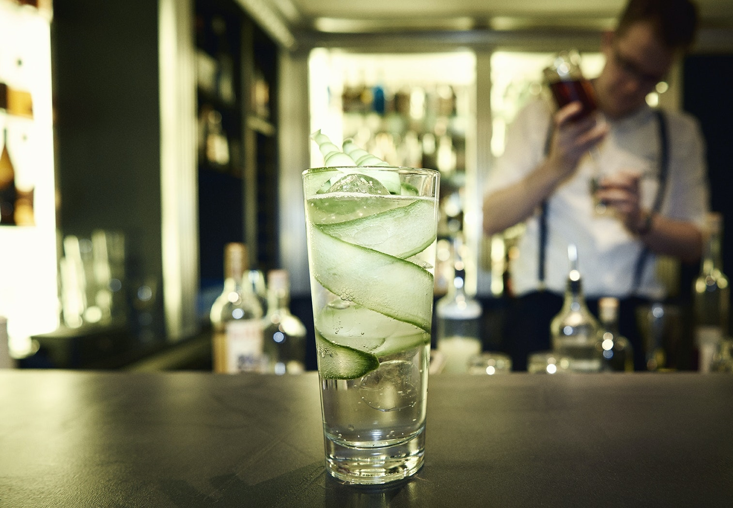 gin tonic bartender