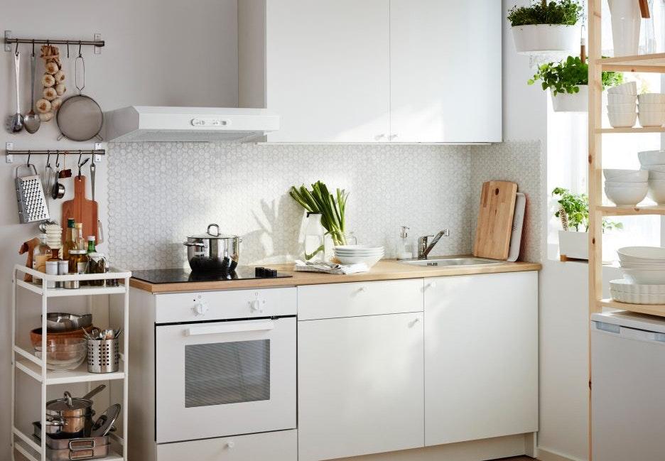 køkken indretning tips lille køkken