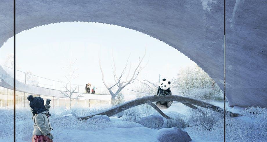 zoologisk have panda københavn big bjarne ingels pandaanlæg