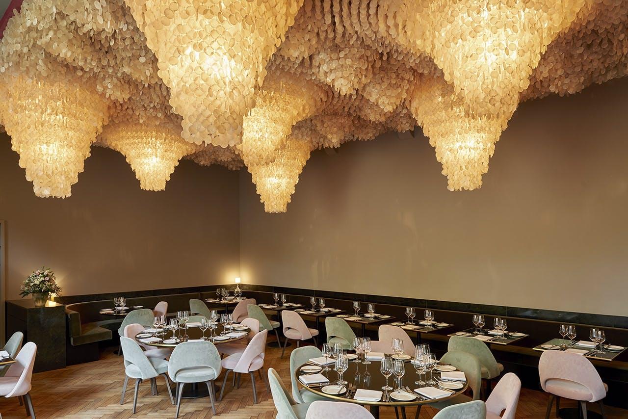 verner panton shell roof kunsthalle basel restaurant