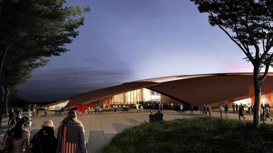BIG arkitektur stadion skak skakbræt