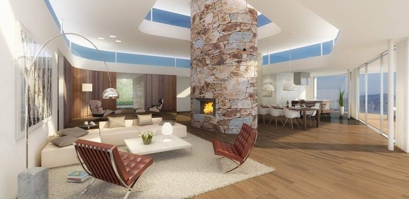 stue designklassikere roger federer luksushuse villa
