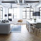 stue indretning tv spisebord spisebordsstole