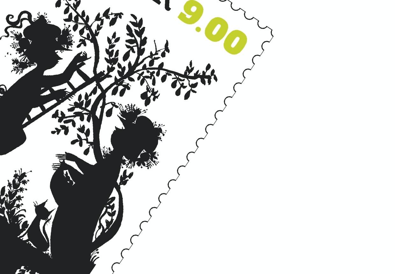 bjørn wiinblad frimærke postnord kunst