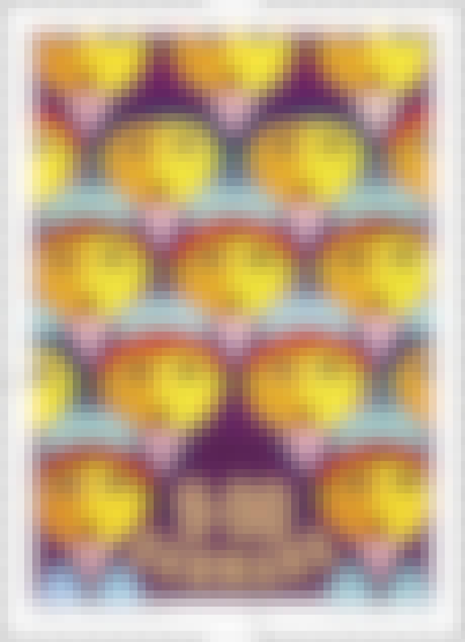 De fleste vil umiddelbart genkende Bjørn Wiinblads motiver på frimærke-serien.