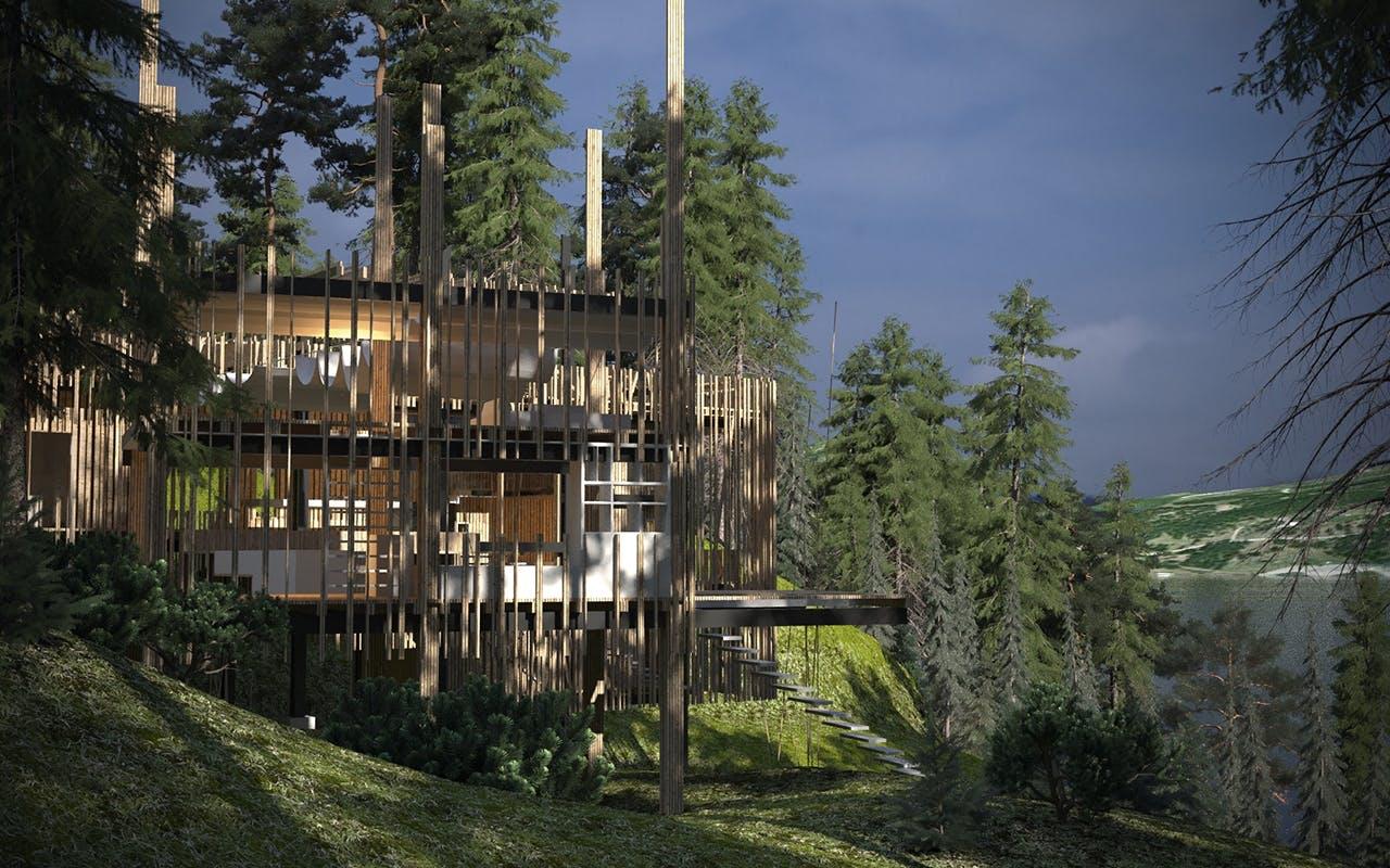 arkitektur canada erik juul vildmark