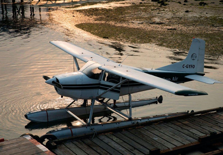 En vandflyver - et hyppigt brugt transportmiddel i den canadiske vildmark