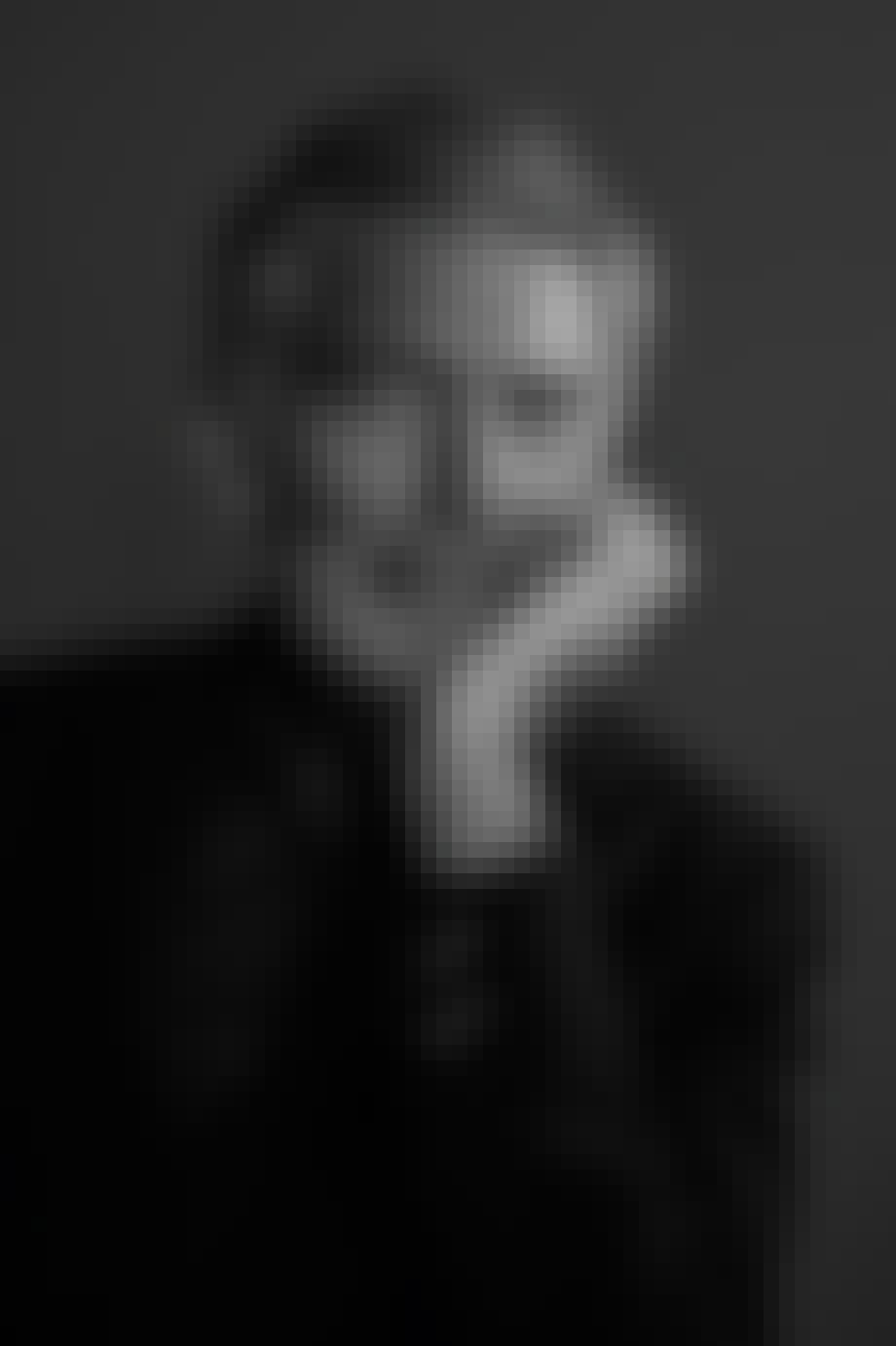 portræt i sort og hvid af alfredo häberli