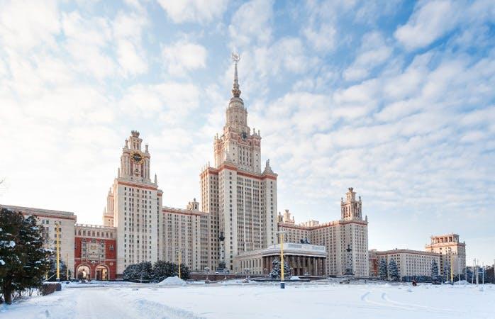 juleferie jule get away jul rejse moskva sne vinter udsigt spurvebakkerne