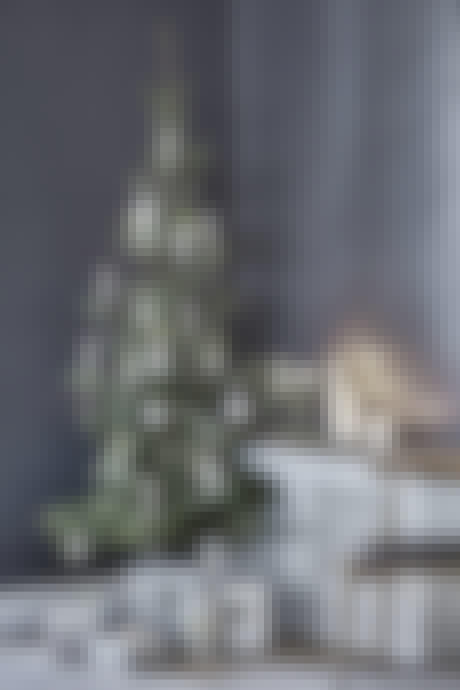 juletræ julepynt pynt til træet fjerpynt fjer gaver