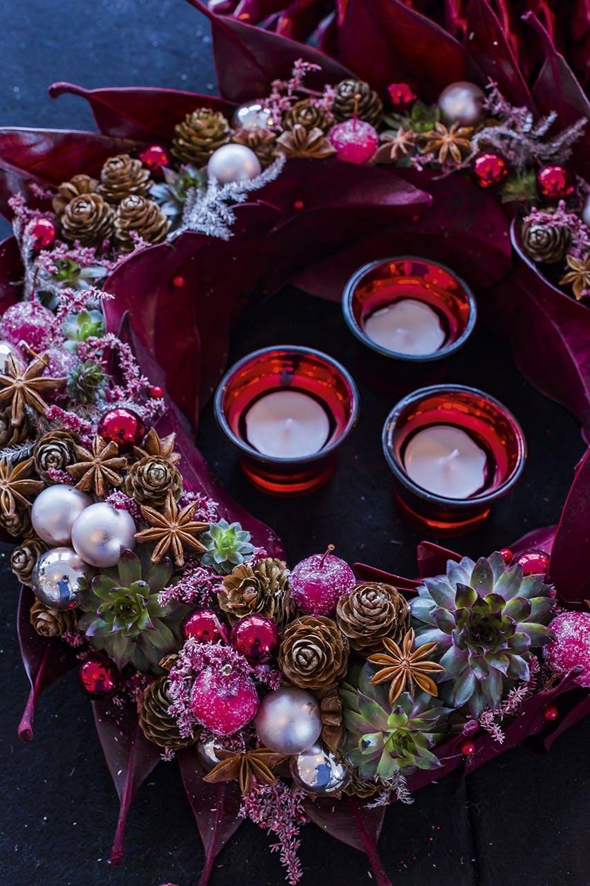 adventskrans annette von einem jul bloklys