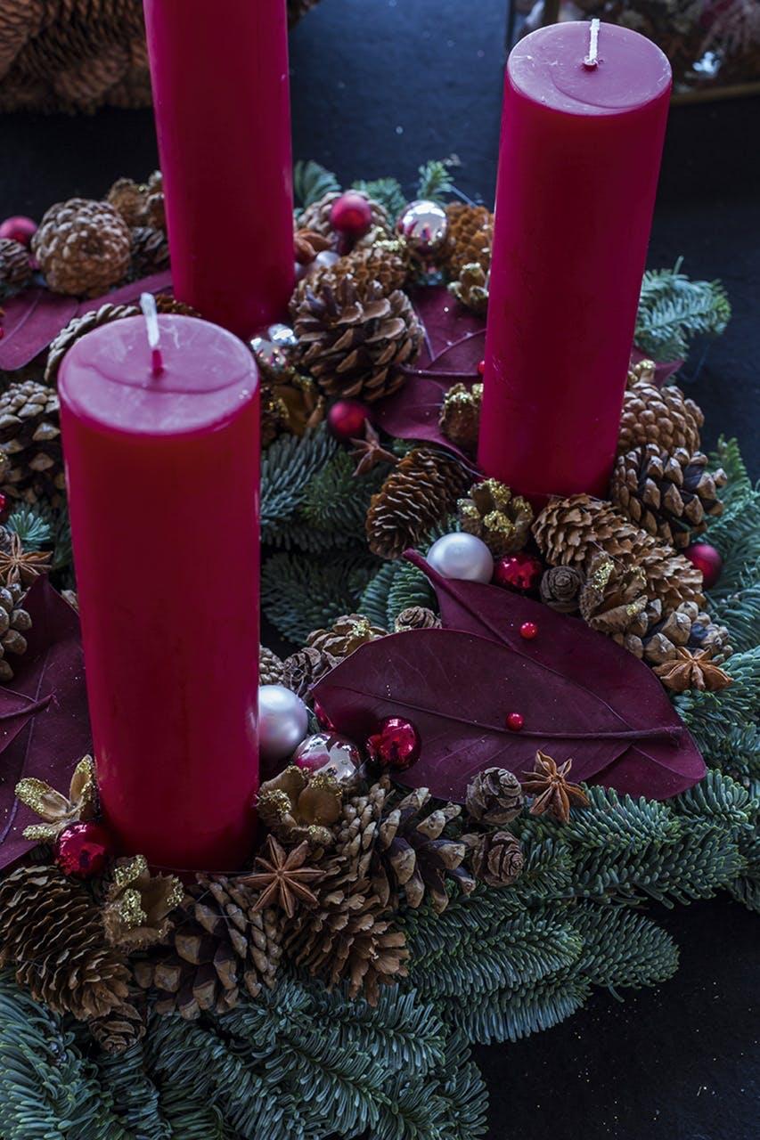 adventskrans annette von einem jul