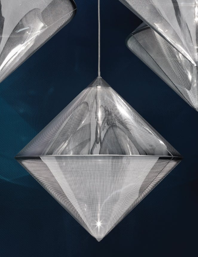 Roomstore top silver pendent designet af tom dixon