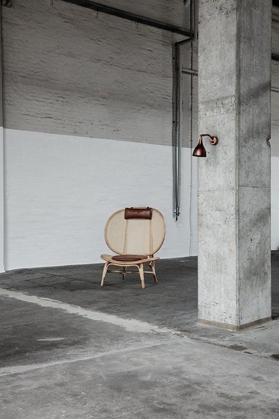 Norr11 nomad chair stol af bambus