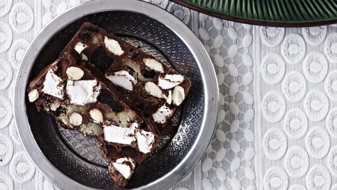 chokolade mandler jul konfekt