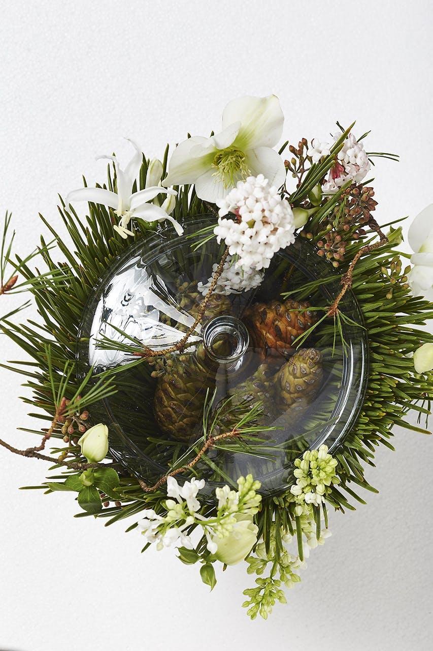 dekoration blomster bonbonniere von einem