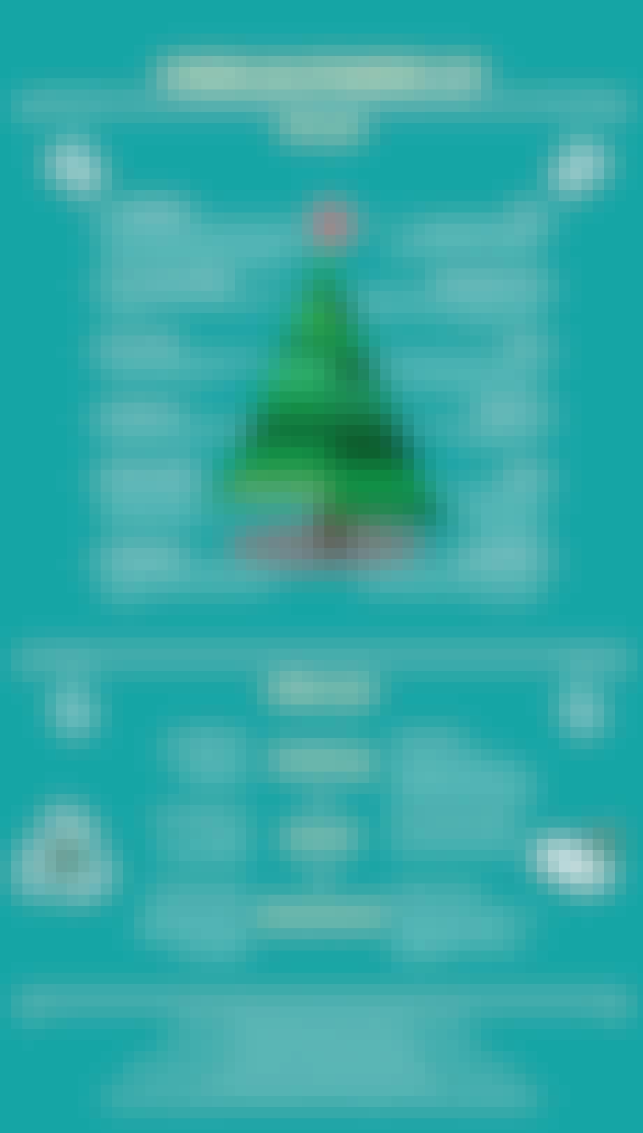 juletræer plastiktræ juletræ grafik genbrug bæredygtig