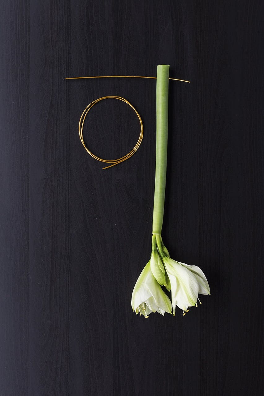 jul dekoration buket blomster annette von einem amaryllis opskrift
