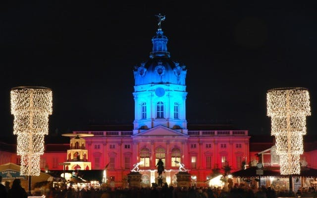 berlin juletur jul juleferie tyskland julemarked slot charlottenburg kongelig