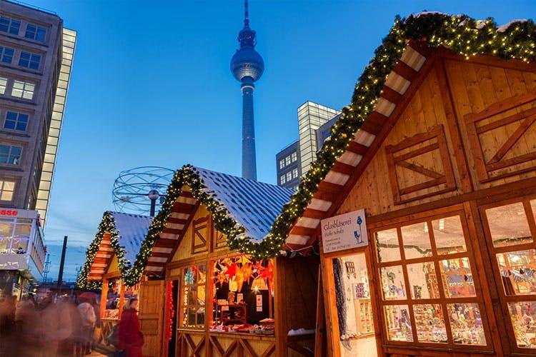 berlin juletur jul juleferie tyskland julemarked alexandersplatz