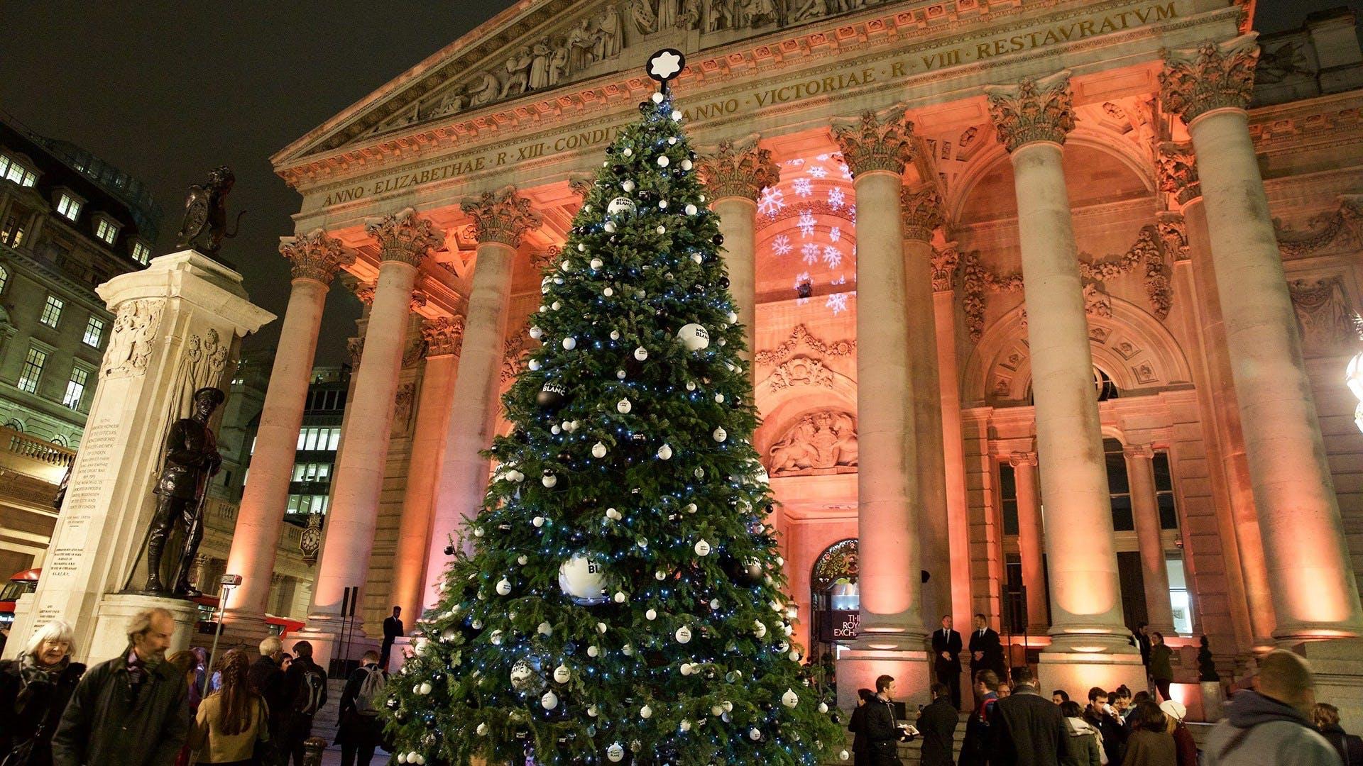 london jul england ferie shopping julemarked juletræ julelys