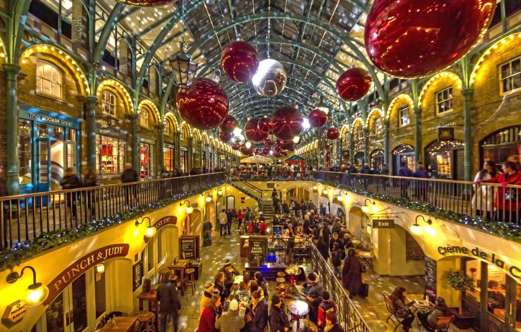 london jul england ferie shopping julemarked julekugler dekoration jule