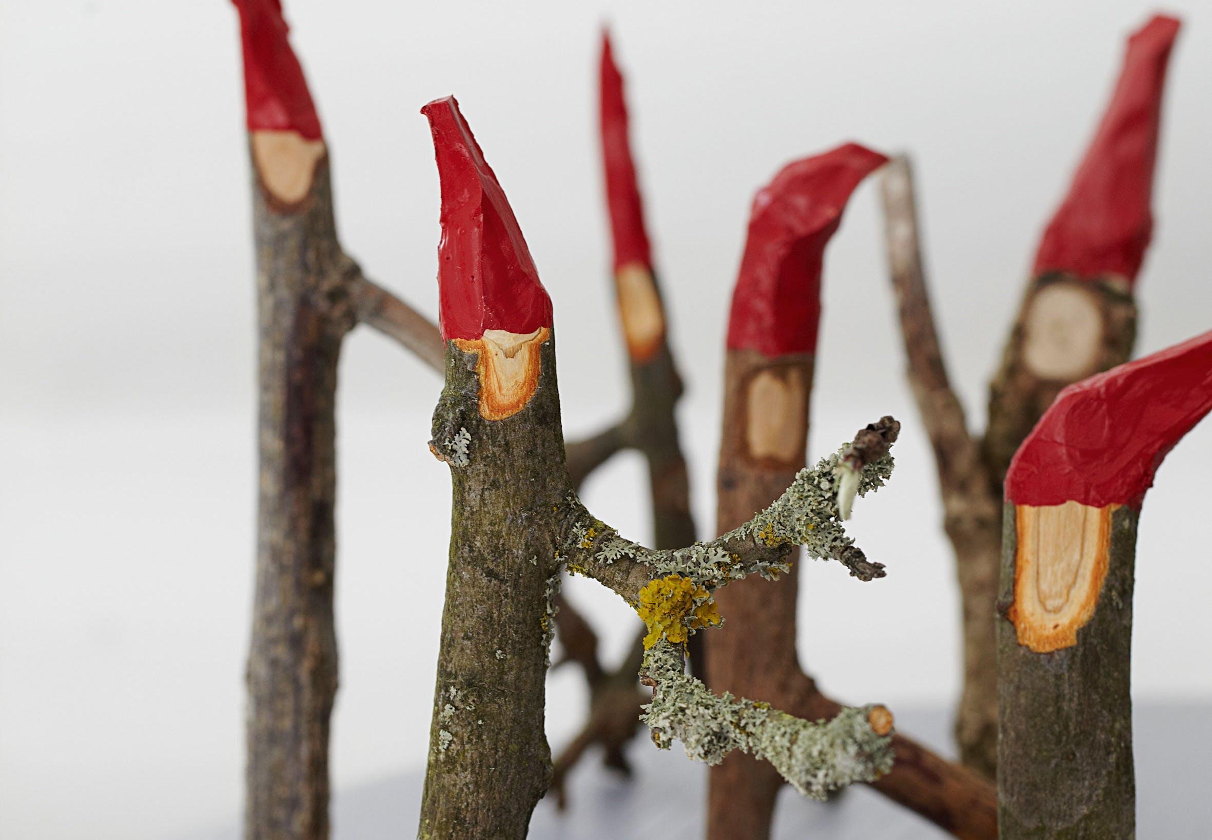 jule jul DIY gør det selv snit nisser pynt
