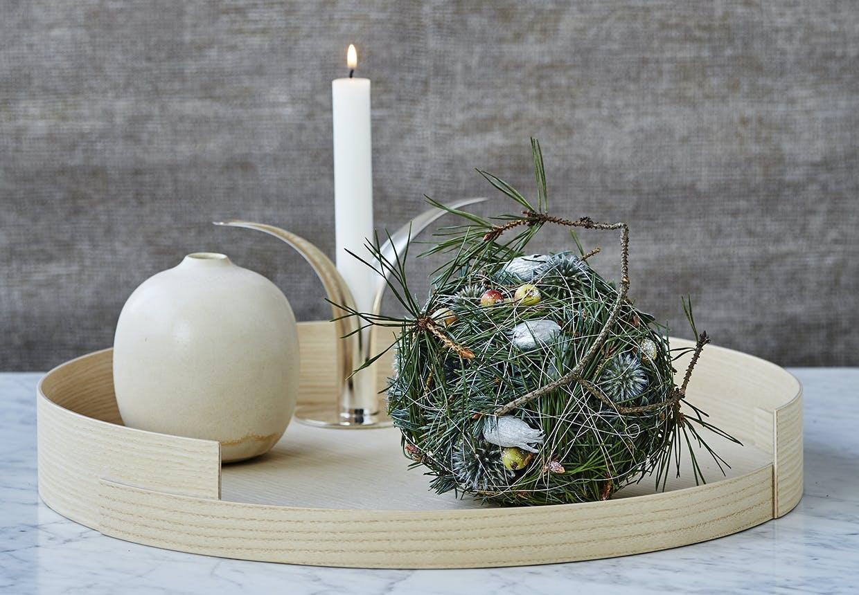 annette von einem julekugle julekalender dekoration
