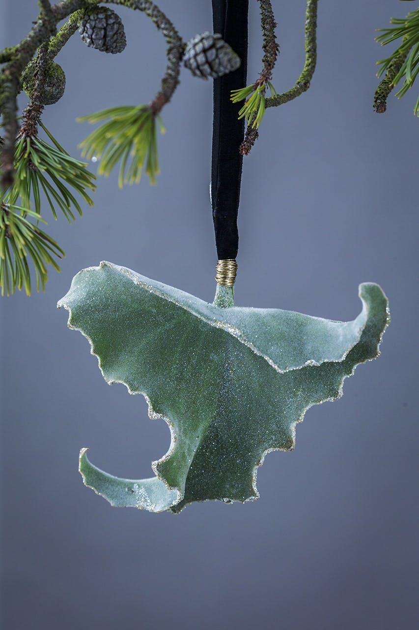 annette von einem jul dekoration julepynt blad