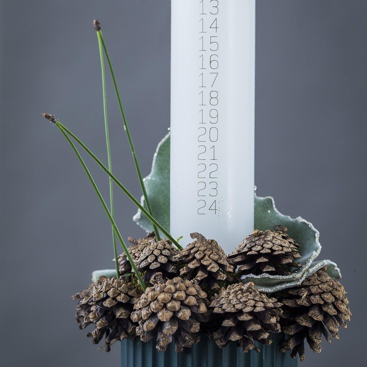 kalenderlys annette von einem dekoration jul juledekoration vase og lys anretning